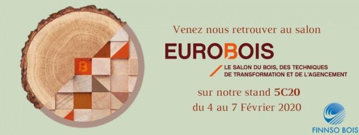 EUROBOIS à Lyon du 4 au 7 Février 2020 STAND 5C20